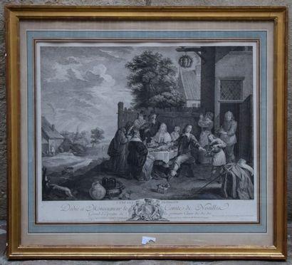 Ecole FRANCAISE du XVIII ème, d'après David...