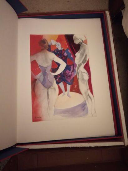 Camille HILAIRE (1916-2004), Le cirque, Portefeuille...