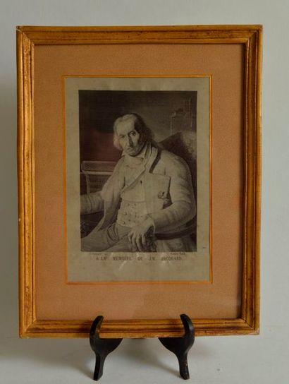 Atelier de CARQUILLAT (XIX ème), Portrait...