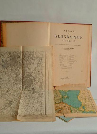 GRAND ATLAS de GEOGRAPHIE par G. NIOX. Fin...