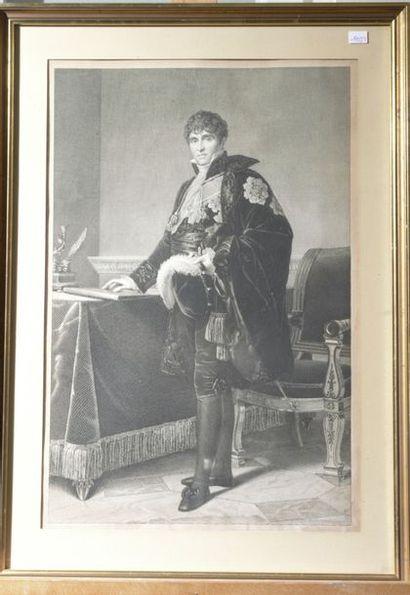 PRADIER d'après Gérard (XIXème), Auguste...