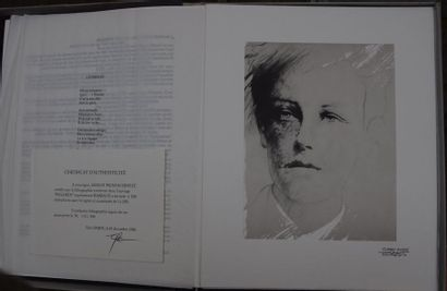 Ernest PIGNON ERNEST (né en 1942), Arthur...