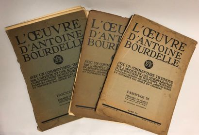 Antoine Bourdelle (1861-1929). L'oeuvre,...