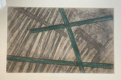 Jean LAMBERT-RUCKI (1888-1967),  Âne à la...