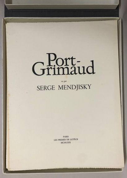 Serge Mendjisky (1929-2017). Port Grimaud....