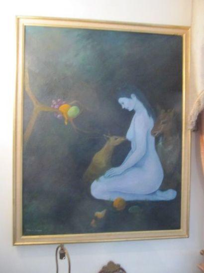 Sybille de MONNERON (née en 1948)