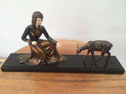 Sculpture chryséléphantine