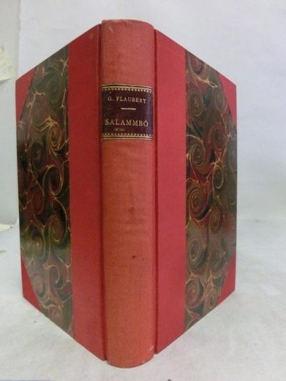 FLAUBERT, Gustave. FLAUBERT, Gustave. Salammbo.  P., Michel Levy Frères, Libraires-Editeurs,...