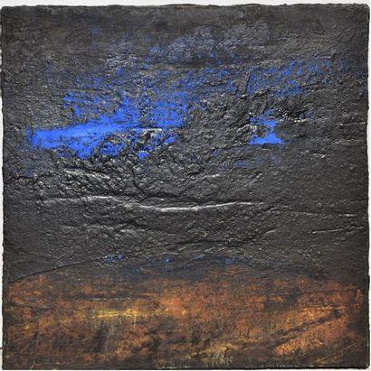Patrick S. NAGGAR (né en 1954), sans titre, 1996, pigments et acrylique sur toile,...