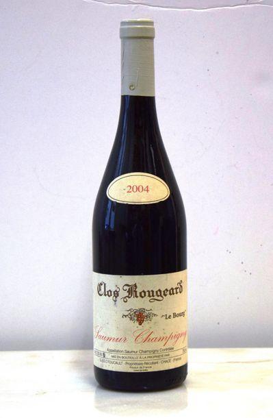 """1 bouteille SAUMUR-CHAMPIGNY """"Le Bourg"""", Clos Rougeard 2004"""