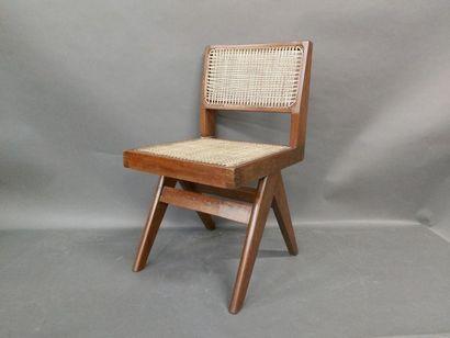 JEANNERET Pierre (1896-1967), Chaise modèle...