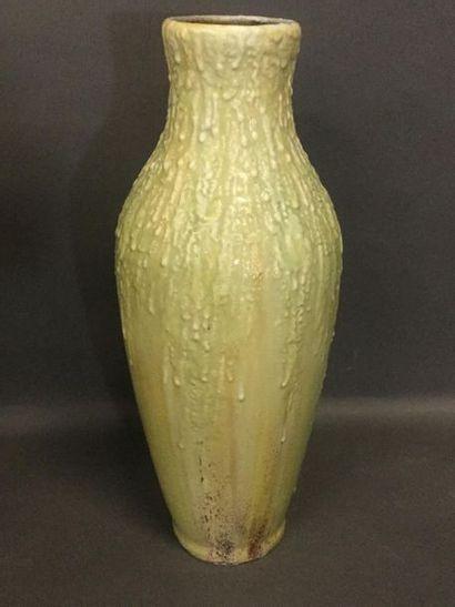MOUGIN Joseph (1876 - 1961), Vase à décor...