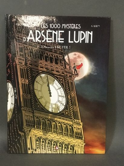 bandes dessinées: Lupin tome 2 : 130 ex....