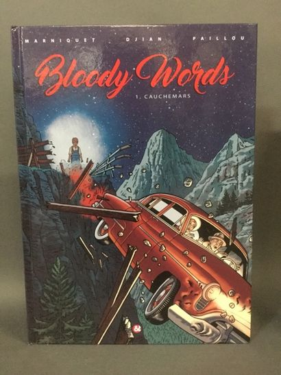 bandes dessinées: Bloody word - 165 ex (...
