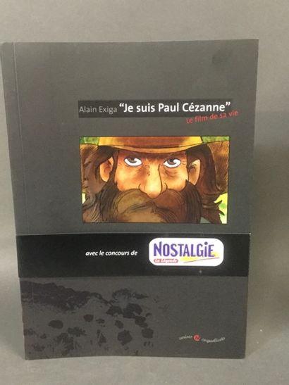 bandes dessinées: je suis Paul Cezanne env....