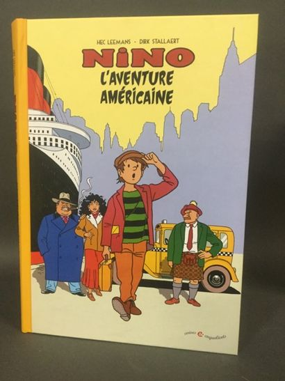 bandes dessinées: Nino l'aventurier 60 ex....