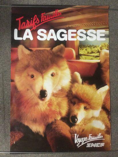 AFFICHE SNCF,
