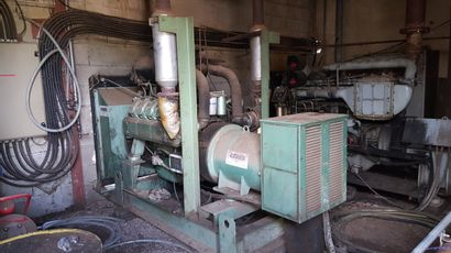 Groupe électrogène moteur Fiat, 8 cylindres,...