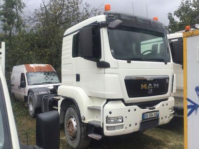 Tracteur routier MAN, Énergie GO Date de...