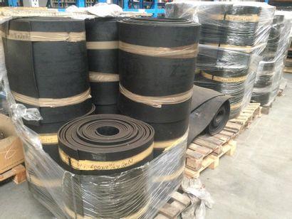 BANDES CAOUTCHOUC 600x10 mm 31 bobines de...