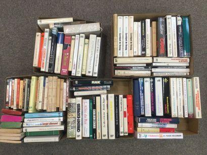 5 CARTONS de romans et littératures dive...
