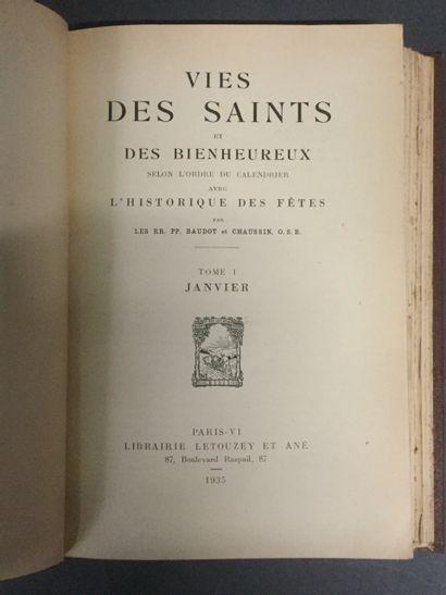 Les RR. PP. Baudot et Chaussain, La vies...