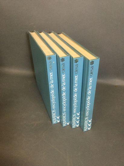 4 tomes ALBATROS Encyclopédie de la Mer,...