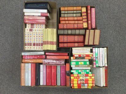 4 CARTONS romans format de poche dont littérature...