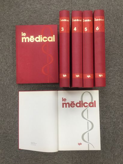 6 tome LE MEDICAL, 1976