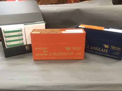 Lot de livres d'apprentissage des langues...