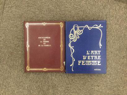 18 volumes d'Encyclopédie de la Femme et...