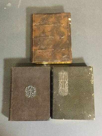 Lot de 3 livres de prières : Paroissien romain...