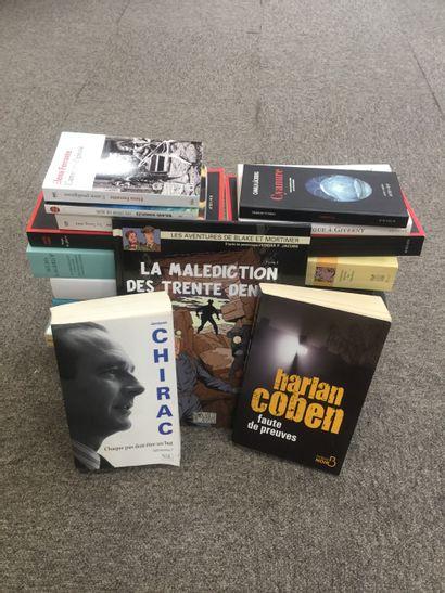 un carton littérature content 25 romans (...