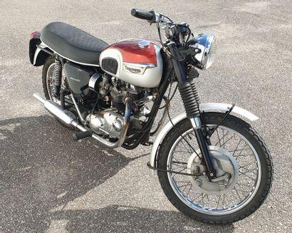 MOTO TRIUMPH, Type 120 R, Énergie essence,...