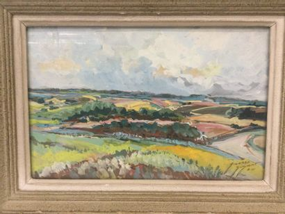 Pierre GIGANT (XXème) La vallée de la Blaise...