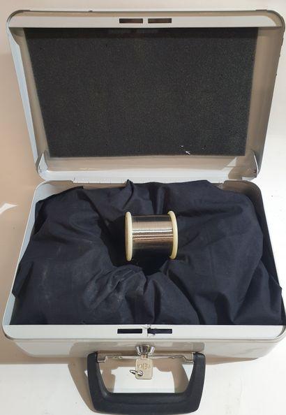 NEW FRENCH TOUCH « Nickel Wire Spool », Le token représente une bobine de fil de...