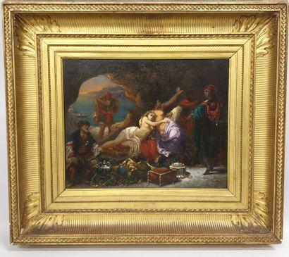 Louis BAUDERON (1809-?) peintre français...