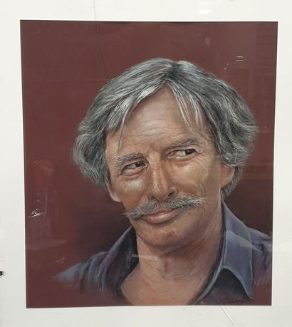 Claude CHAROY (1931-2020), Portrait de Jean...