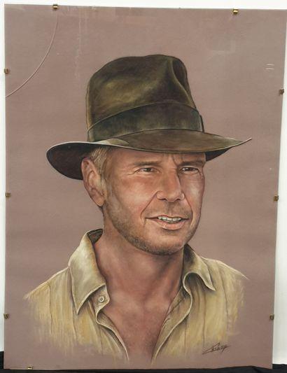 Claude CHAROY (1931-2020), Indiana Jones...