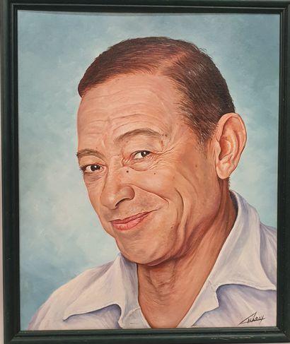 Claude CHAROY (1931-2020), Portrait d'Henri...