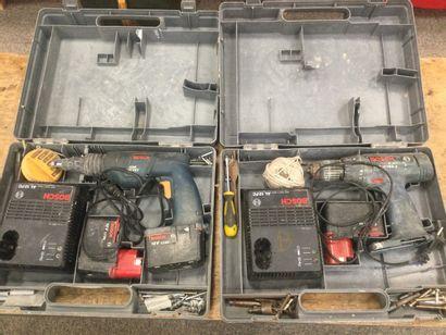 2 visseuses électriques BOSCH