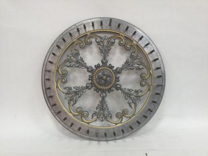 Aluminium wall-mounted fairground wheel,...