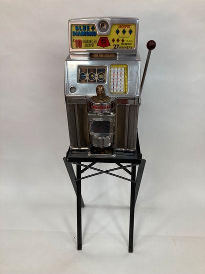 JENNINGS BLUE DIAMOND , American slot machine...