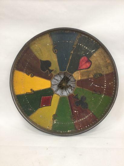 Important fairground wheel first half of...