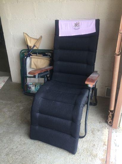 Lot de fauteuils pliables