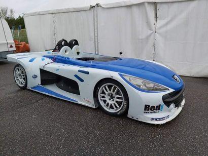 Prototype Peugeot THP spider Cup 207 a été fabriqué en 2007 par le constructeur...