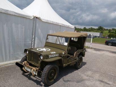 JEEP Willys de 1947 Moteur essence  574km...