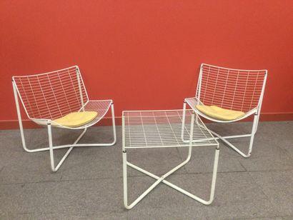 """NIELS GAMMELGAARD pour IKEA modèle """"JARPEN"""" produites de 1983 à 1989. Entièrement..."""