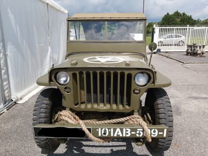 JEEP Willys de 1947 Moteur essence  574km au compteur   Très bon état général
