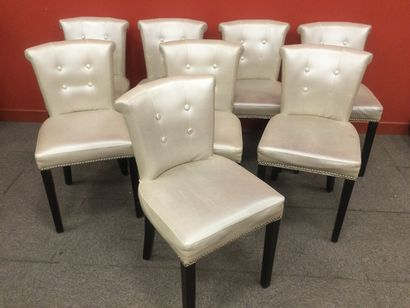 EICHHOLTZ 8 chaises de salle a manger modèle...